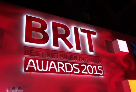 Toyota BRiT award ceremony in London. Taken by Hodgson Toyota, winners of the award.